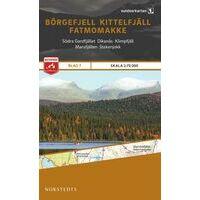 Norstedts Zweden Outdoormap 07 Börgefjell - Kittelfjäll