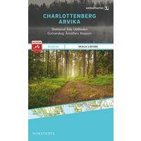 Norstedts Zweden Outdoormap 15 Charlottenberg - Arvika