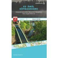 Norstedts Zweden Outdoormap 17 Ed - Amal - Köpmannebro