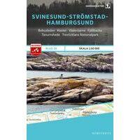 Norstedts Zweden Outdoormap 18 Svinesund - Strömstad - Hamburgsund