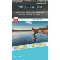 Norstedts Zweden Outdoormap 26 Norra Stockholm
