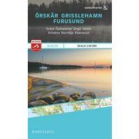 Norstedts Zweden Outdoormap 28 Örskär - Grisslehamn - Furusund