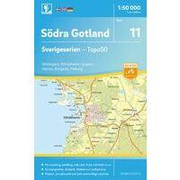 Norstedts Zweden Topografische Wandelkaart 11 Södra Gotland