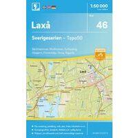 Norstedts Zweden Topografische Wandelkaart 46 Laxa