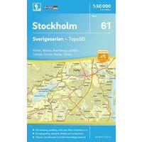 Norstedts Zweden Topografische Wandelkaart 61 Stockholm