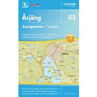 Norstedts Zweden Topografische Wandelkaart 53 Arjäng