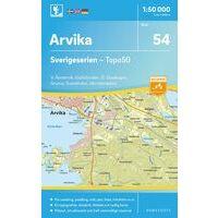 Norstedts Zweden Topografische Wandelkaart 54 Arvika