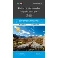 Norstedts Zweden Wandelkaart Kungsleden 1 - Abisko - Kebenekaise