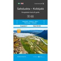 Norstedts Zweden Wandelkaart Kungsleden 3 - Saltoluokta - Kvikkjokk