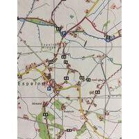 NRW Wanderkarte Wandelkaart 61 Paderborner Land Nord