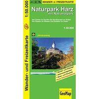 NRW Wanderkarte Wandelkaart Harz 1:50.000