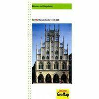 NRW Wanderkarte Wandelkaart Münster Und Umgebung 1:35.000