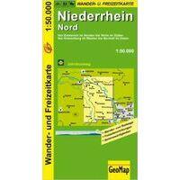 NRW Wanderkarte Wandelfietskaart Niederrhein Nord 1:50.000