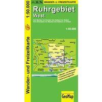 NRW Wanderkarte Wandelkaart Ruhrgebiet West 1:50.000