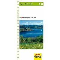 NRW Wanderkarte Wandelkaart 14 Biggesee - Sudsauerland