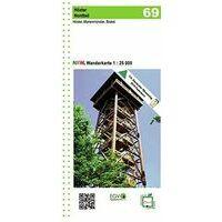 NRW Wanderkarte Wandelkaart 69 Hoxter Nord