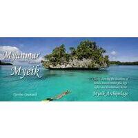Odyssey Kaart Myanmar Featuring The Myeik Archipelago