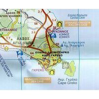 Orama Limassol Cyprus 1:100.000 Fietskaart