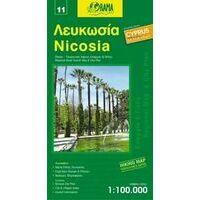 Orama Nicosia 1:100.000 Fietskaart