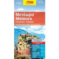 Orama Wandelkaart Kalabaka Meteora 1:25.000