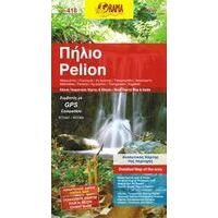 Orama Wandelkaart Pilion - Pelion 1:100.000