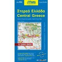 Orama Wegenkaart 54 Centraal Griekenland 1:200.000