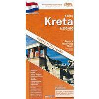 Orama Wegenkaart Gids Kreta 1:250.000