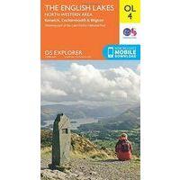 Ordnance Survey Wandelkaart OL4 Active Explorer Lake District - Northwest