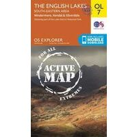Ordnance Survey Wandelkaart OL7 Active Explorer English Lakes Southeast