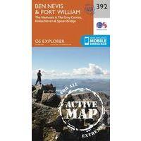 Ordnance Survey Wandelkaart OL392 Explorer Ben Nevis