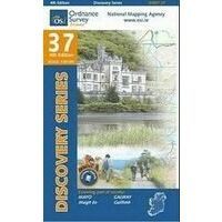 Ordnance Survey Ierland Topografische Kaart D37 Mayo En Southwest Galway