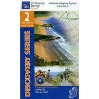 Ordnance Survey Ierland Topografische Kaart D02 Donegal North