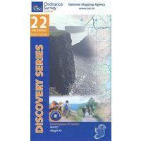 Ordnance Survey Ierland Topografische Kaart D22 Mayo