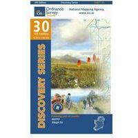 Ordnance Survey Ierland Topografische Kaart D30 Mayo West Central