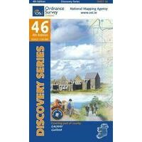 Ordnance Survey Ierland Topografische Kaart D46 Galway
