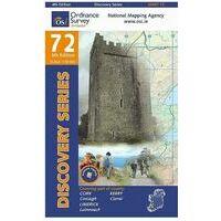 Ordnance Survey Ierland Topografische Kaart D72 Kerry Cork Limerick
