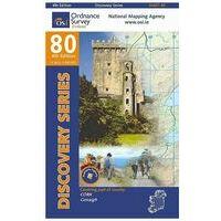 Ordnance Survey Ierland Topografische Kaart D80 Cork