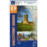 Ordnance Survey Ierland Topografische Kaart D89 Cork Skibbereen