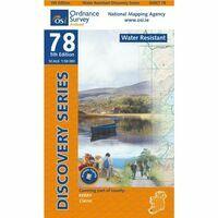 Ordnance Survey Ierland Wandelkaart D78W Kerry Killarney (waterproof)
