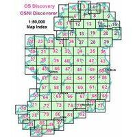 Ordnance Survey Northern Ireland Wandelkaart Discovery 08 Ballymoney
