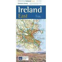 Ordnance Survey Ierland Wegenkaart Ierland Oost Holiday