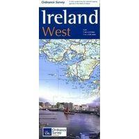 Ordnance Survey Ierland Wegenkaart Ierland West Holiday