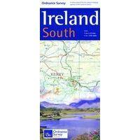 Ordnance Survey Ierland Wegenkaart Ierland Zuid Holiday