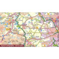 Ordnance Survey Fietskaart 04 Peak District
