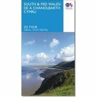 Ordnance Survey Fietskaart 11 Wales Mid & South