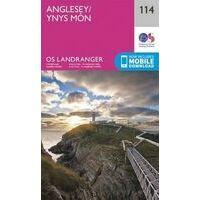 Ordnance Survey Wandelkaart 114 Anglesey