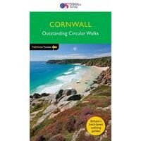 Ordnance Survey Wandelgids Cornwall