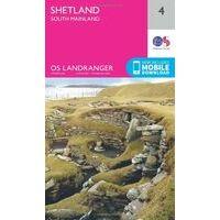 Ordnance Survey Wandelkaart 004 Shetland