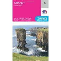Ordnance Survey Wandelkaart 006 Orkney