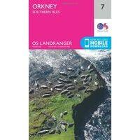 Ordnance Survey Wandelkaart 007 Orkney